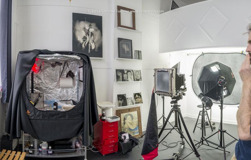 Chambre Noire Photographie : Chronique parisienne christian fournier